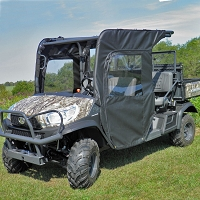 DOORS AND REAR WINDOW KIT FOR KUBOTA RTV-1140: FRONT 1/2 ONLY