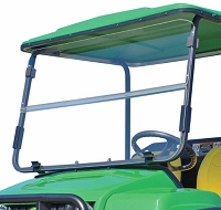 Acrylic Folding Windshield for John Deere Gator Traditional Series