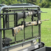Power-Ride Utility Vehicle Rear Gun Rack - rollbars 50