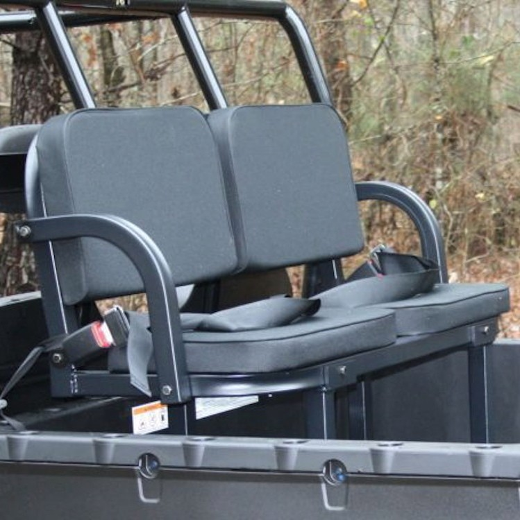 Deluxe Rumble Seat - Utility Vehicle Passenger Seat