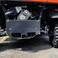 Hitch Extension/Skid Plate for Kubota RTV X-Series