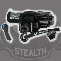 Stealth Series 4500lbs Winch - Synthetic Cable