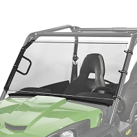 Full Length Harcoated Polycarbonate Windsheild for John Deere Gator Midsize