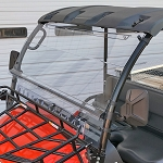 QUANTUM COATED, VENTED POLYCARBONATE WINDSHIELD FOR KUBOTA RTV400 & RTV500