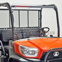 Quantum Coated Vented Windshield for Kubota RTV-X900, RTV-X1120D, RTV-X1140 & RTV-XG850 Sidekick