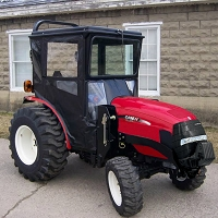 Standard Cab with Hinged Doors for Case IH DX18E, DX22E, DX24E & DX25E