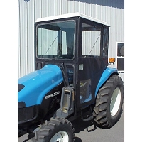 Standard Cab with Hinged Doors for Case IH Models DX35, DX40, DX45, D35, D40 & D45