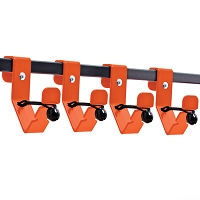 Accessory Rack Hooks- Set of 4