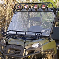 Polaris Ranger '09-'10 Full Acrylic Windshield