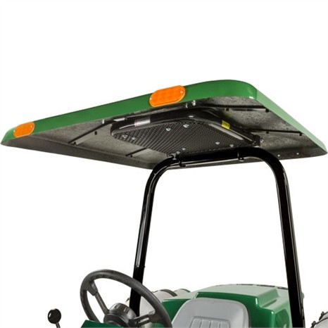 Tractor & Mower Canopy with Down Draft Fan for Vertical 2