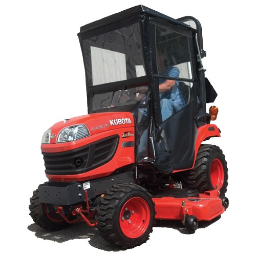 Hardtop Cab for Kubota BX1850, BX1860, BX1870, BX2350, BX2360, BX2370, BX2660, BX2670, BX25 and 70-1 Series *SOLD OUT UNTIL 3/26*