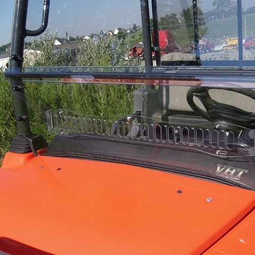 GENERAL PURPOSE POLYCARBONATE VENTED WINDSHIELD FOR KUBOTA RTV900