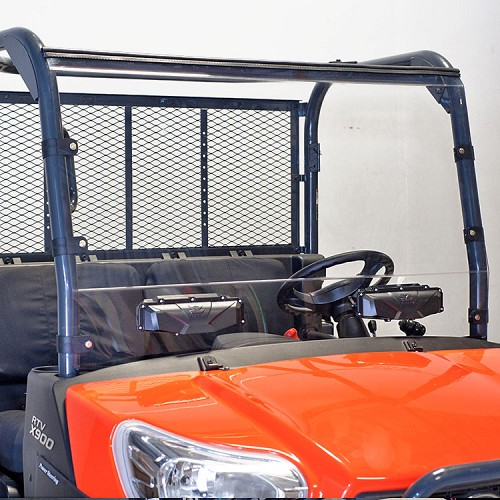Versa-Vent Hard Polycarbonate Windshield for Kubota RTV X-Series