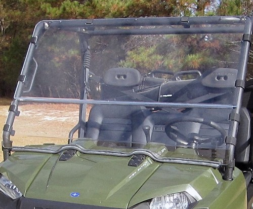 Versa-Shield Windshield - 2009-2011 Polaris Ranger / Crew