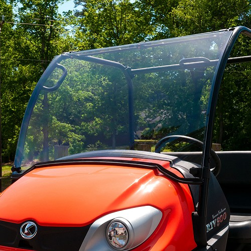 STANDARD COATED, POLYCARBONATE PIVOTING WINDSHIELD FOR KUBOTA RTV400 & RTV500